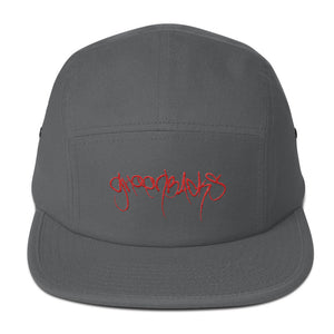 Grey 5 Panel Lowercase Logo