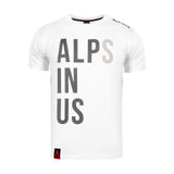 Camiseta Hombre Alpinus Alps In Us - ALP20TC0015 - blanco de gran calidad ideal para montanismo depor8com