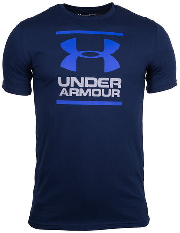 Camiseta Under Armour GL Foundation Manga Corta Hombre - 1326849-408 - azul oscuro depor8.com