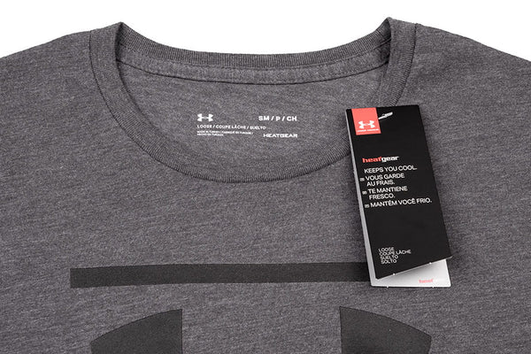 Camiseta Under Armour GL Foundation Manga Corta Hombre - 1326849-019 - gris depor8.com