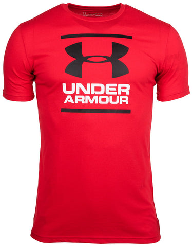 Camiseta Under Armour GL Foundation Manga Corta Hombre - 1326849-602 - rojo depor8.com