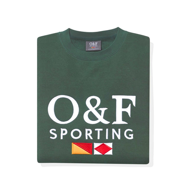 Forest Green Classic Sweatshirt