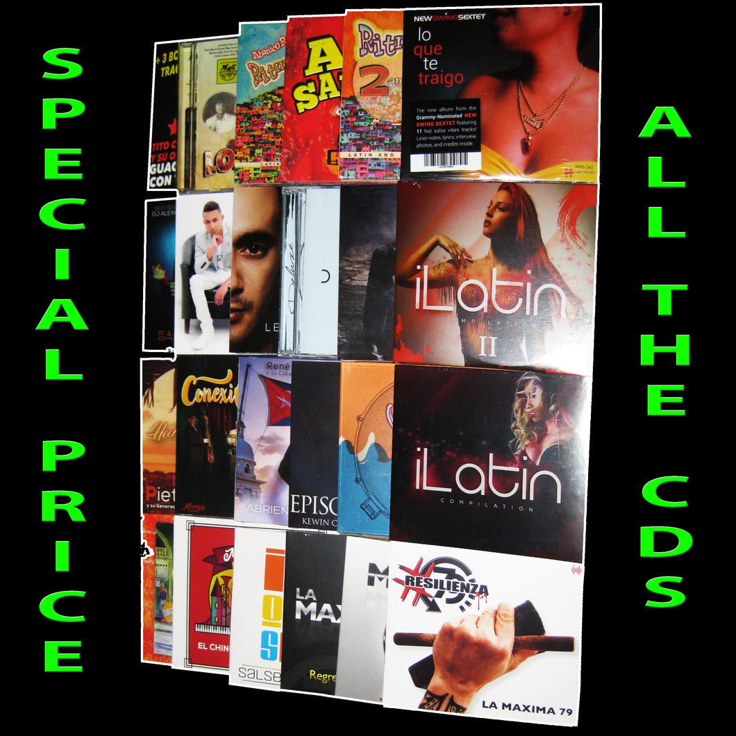 BUNDLE CD - ILATIN MUSIC - 24 CD - THE BEST LATIN MUSIC