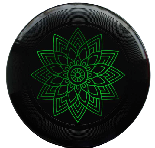 פריסבי - discraft ultrastar 175g mandala hot-stamp black