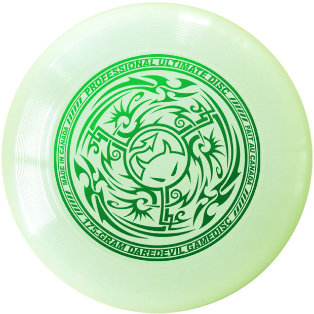 Daredevil Tribal Ultimate Frisbee זוהר בלילה