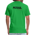 Earth Is My Trail - Mogul Shirt - bright green