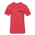 Fitted Cotton Bike Rider - heather red