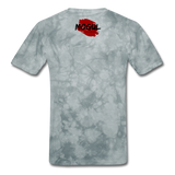 Men's T-Shirt Worn Look - grey tie dye