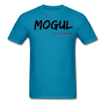 Men's T-Shirt Worn Look - turquoise