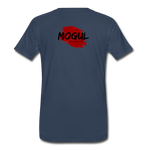 I Don't Feel as Fat as I Look - Mogul Tee - navy