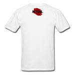 Men's T-Shirt Worn Look - white
