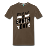 Earth Day 2019 - Premium Shirt - noble brown
