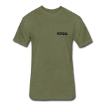 Fitted Cotton Bike Rider - heather military green