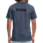 Bike Track Mogul Shirt - heather navy