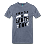 Earth Day 2019 - Premium Shirt - heather blue