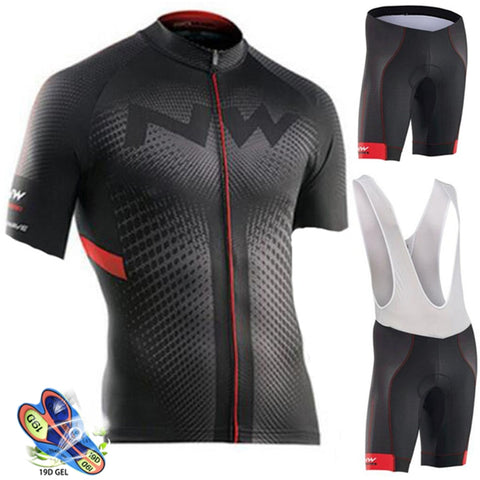 2019 Summer Cycling Jersey Set Breathable MTB