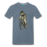 Men's Premium T-Shirt - steel blue