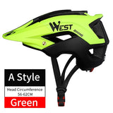 WEST BIKING Bike Helmet Ultralight-Molded 10 Colors