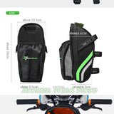 Road Mountain Bike Saddle Bag with Water Bottle Holder