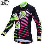 Winter Ladies Pro Cycling Jersey