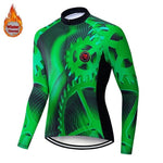 2019  Winter Thermal Pro Cycling Jersey Sets Keep Warm MTB Bicycle Cycling