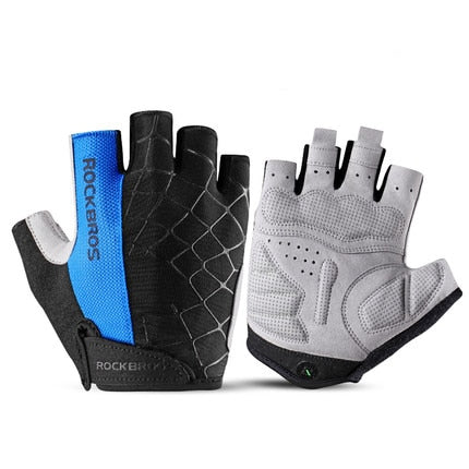 Unisex Anti-Slip Half Finger Cycling Gloves