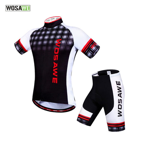 WOSAWE 2019 Team Cycling Jersey Sets