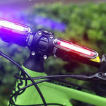 MTB Bicycle Light USB Rechargeable