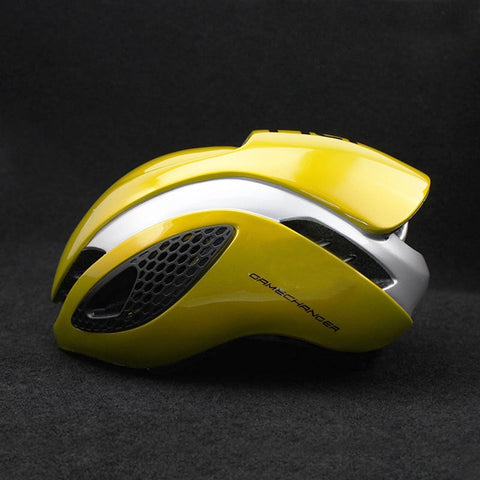 Aero TT Bike Helmet With Goggles
