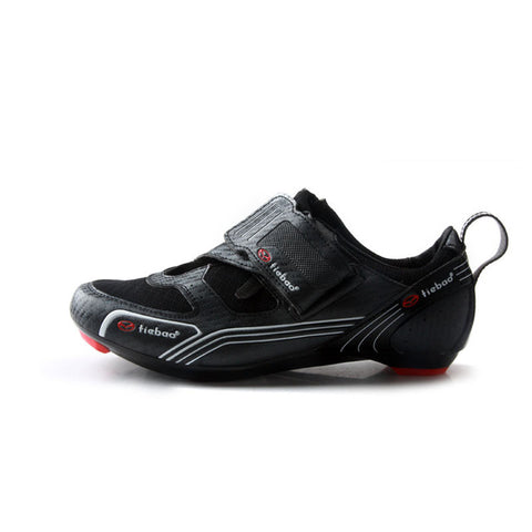 Tiebao Men's Road Bike Shoes Anti-slip Breathable