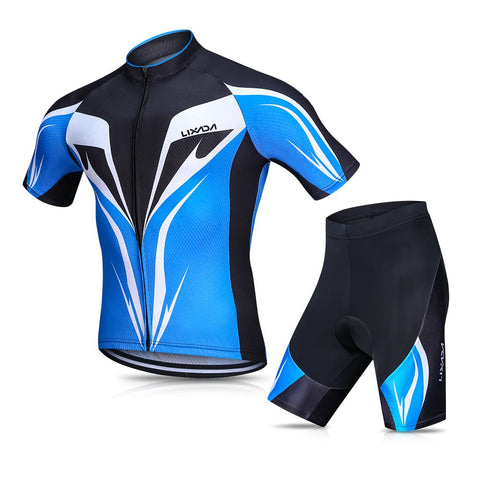 Lixada Men's Cycling Jersey Set Breathable Quick-Dry
