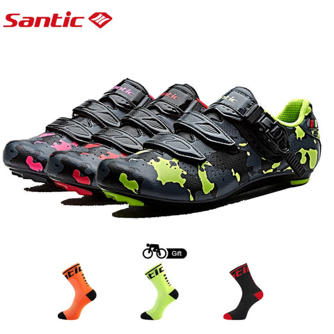 Men's Cycling Shoes Breathable Carbon Fiber