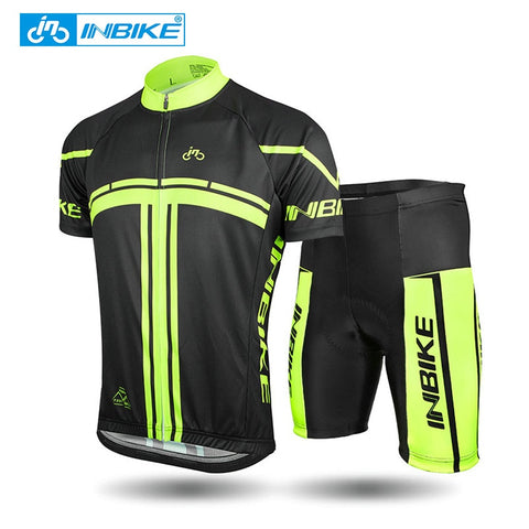 Cycling Jersey & Short Sleeve Set
