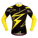 Pro Men's Cycling Jersey Long Sleeve Road and MTB