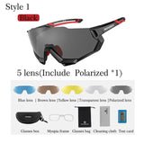 Cycling Glasses Polarized 5 Lens