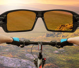 Unisex Polarized Road Bike Glasses