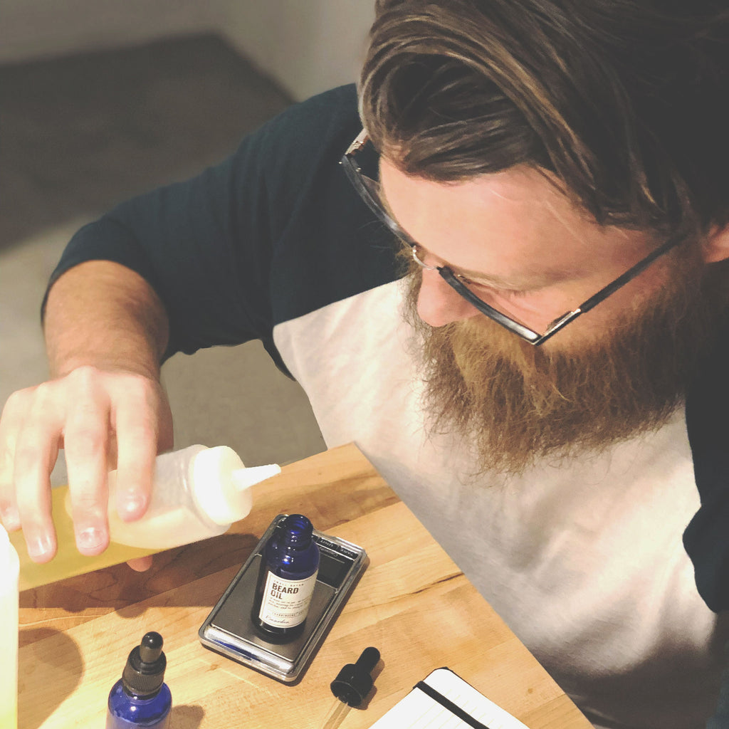 Baarden owner creates handcrafted, small batch of beard oil