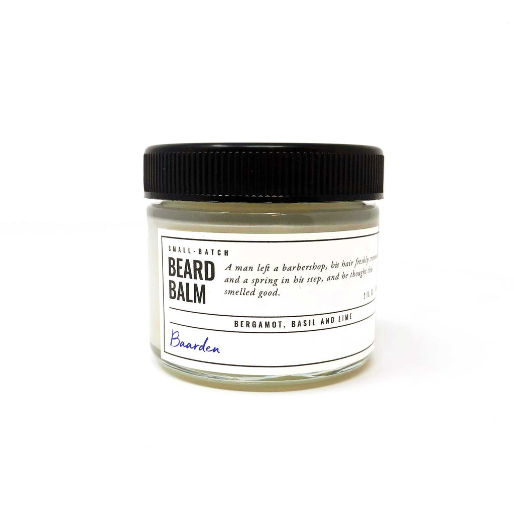 Beard Balm - Bergamot, Basil and Lime