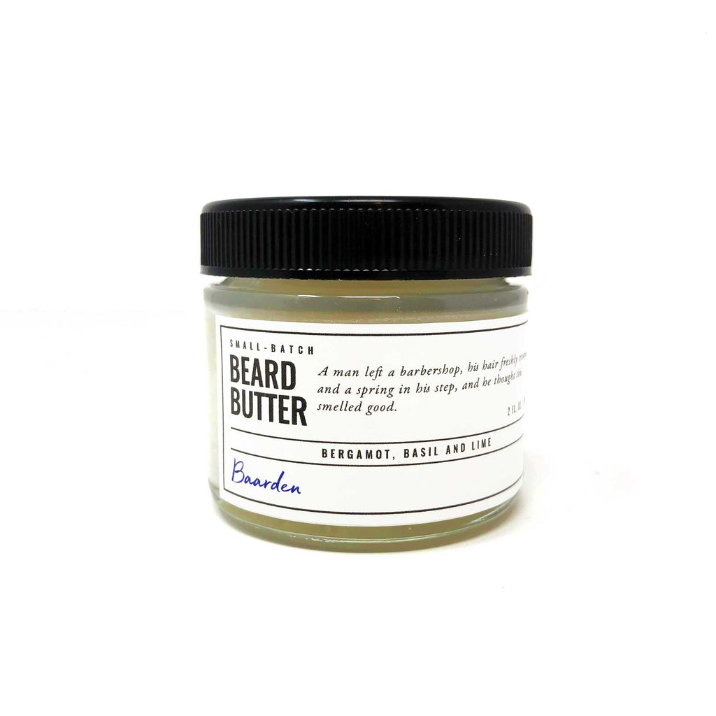 Beard Butter - Bergamot, Basil and Lime