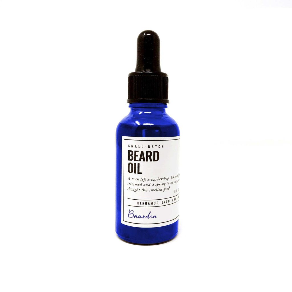 Beard Oil - Bergamot, Basil and Lime