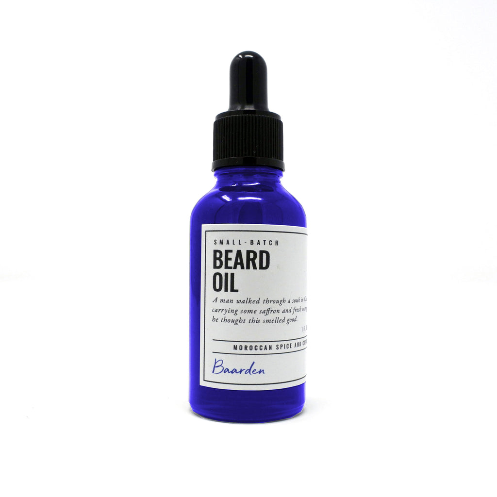 Beard Oil - Moroccan Spice and Citrus