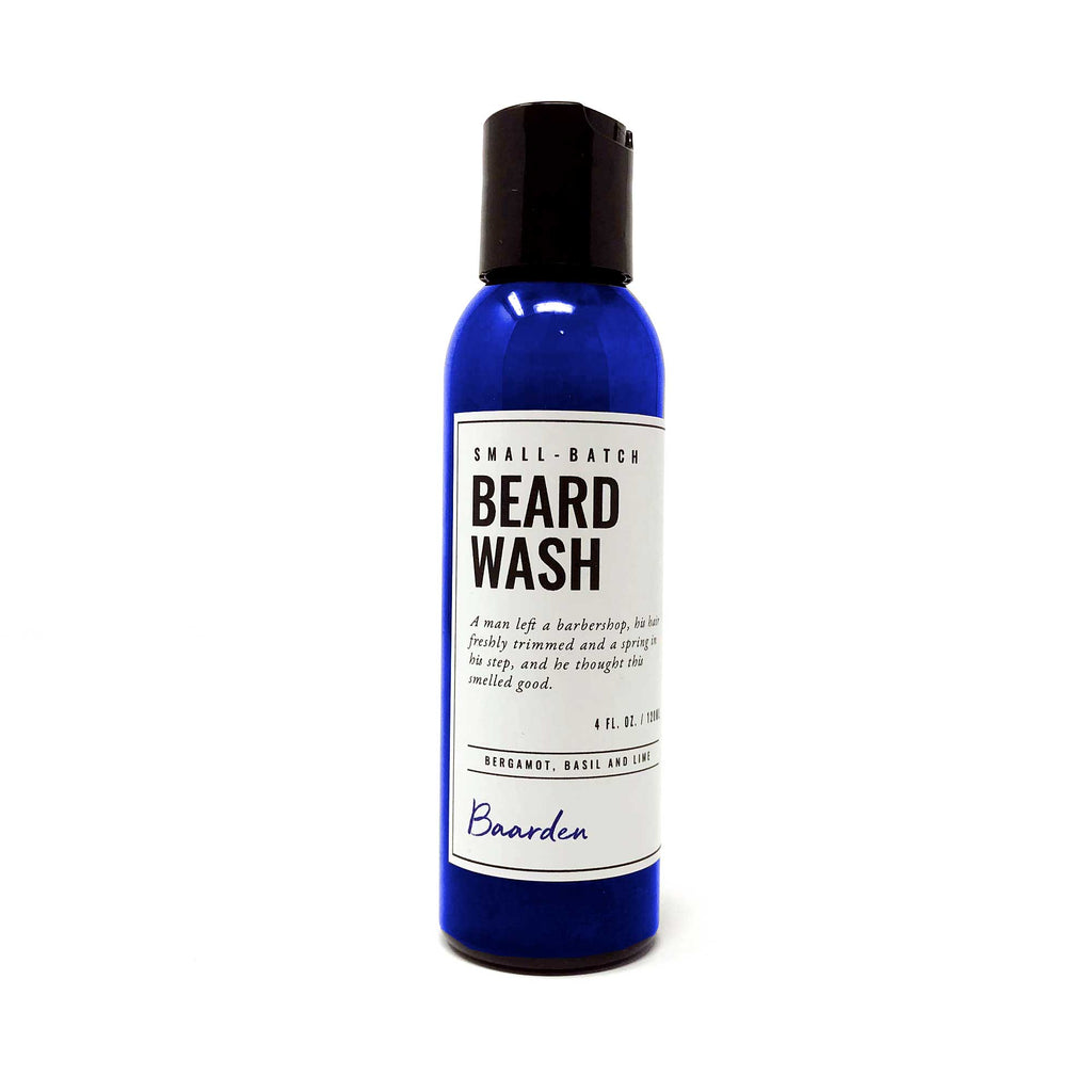 Beard Wash - Bergamot, Basil and Lime