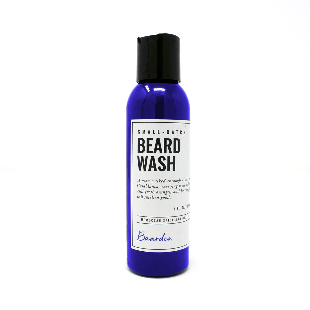 Beard Wash - Moroccan Spice and Citrus