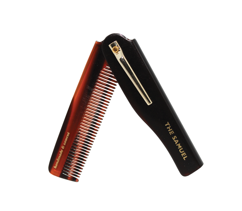 "Kent ""The Samuel"" Folding Pocket Comb"