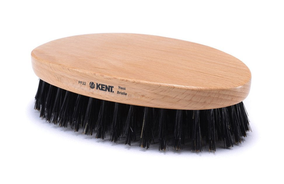 Kent Military Oval Beechwood Brush