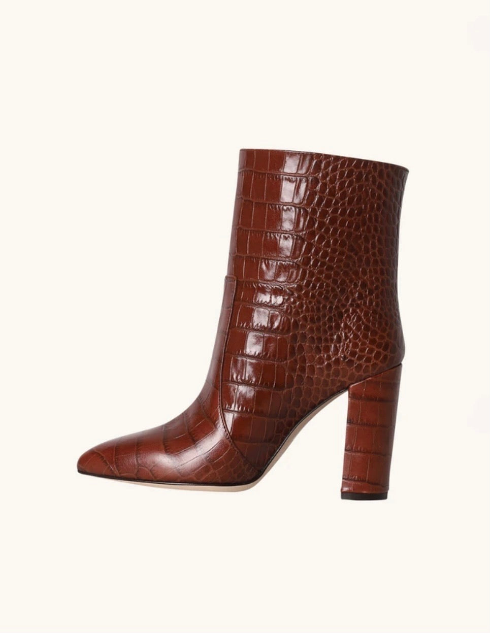 Pull On Croc Ankle Boot