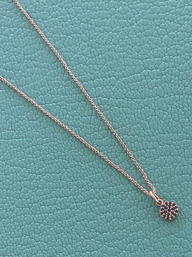 Small Disc Pendent Necklace