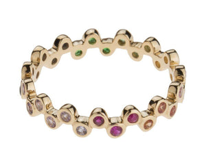 Rainbow Semilla Eternity Band