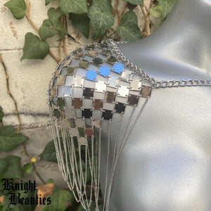 Silver Shoulder Jewelry Armor - Body Jewelry