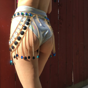 Havana body chain skirt